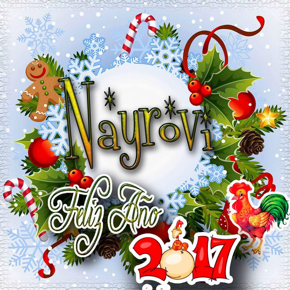 Lindas tarjetas para perfil con tu nombre 2017!!! Nayrovi