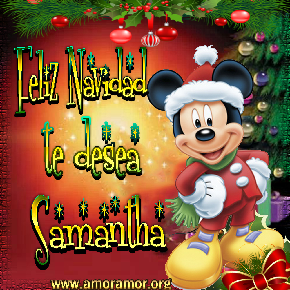 Tarjetas de Navidad con tus deseos!!! Samantha