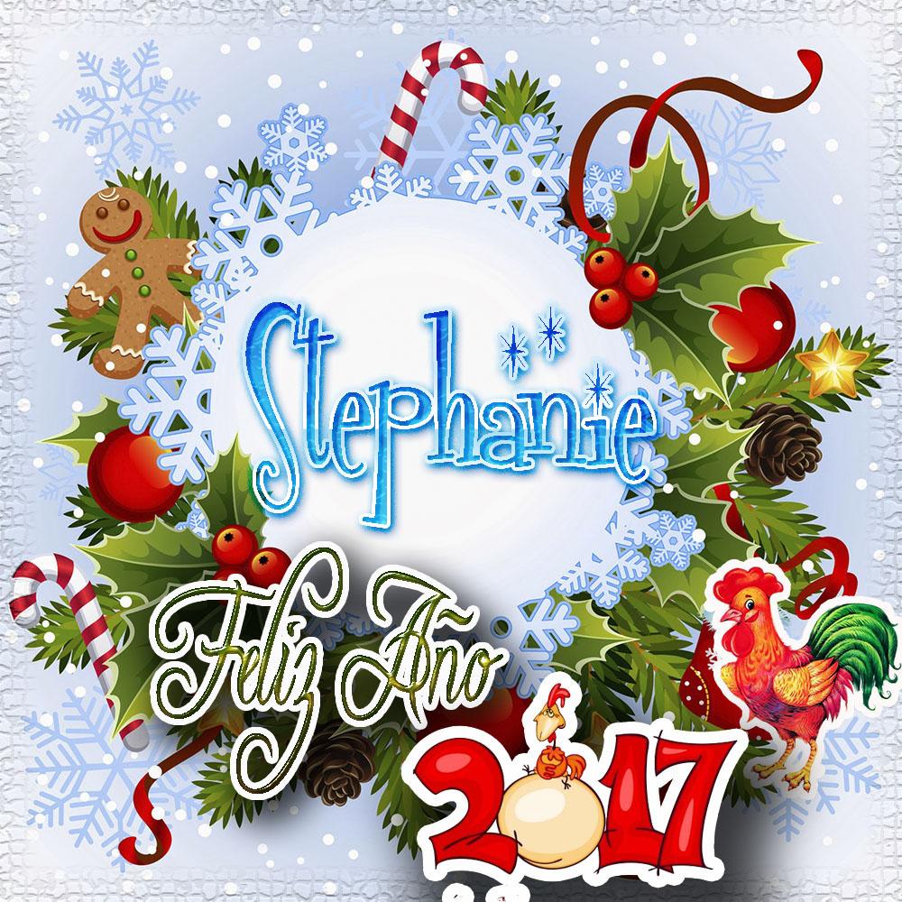 Lindas tarjetas para perfil con tu nombre 2017!!! Stephanie