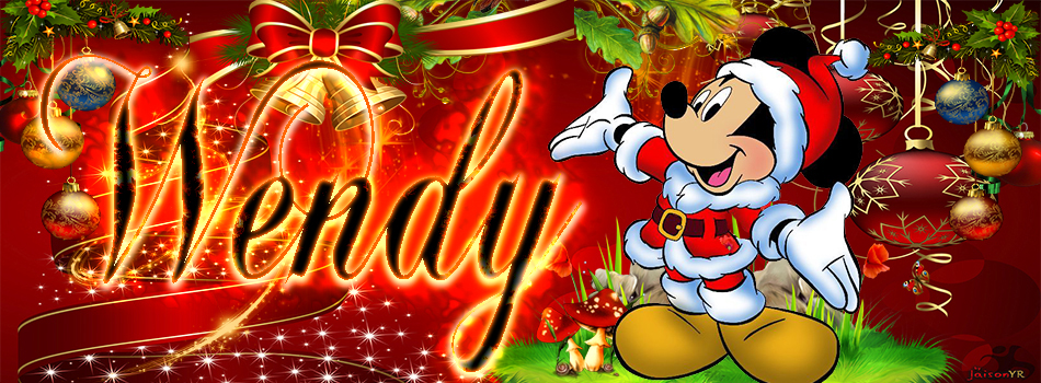 Portadas de Navidad con tu Nombre, de MICKEY,Wendy!!!