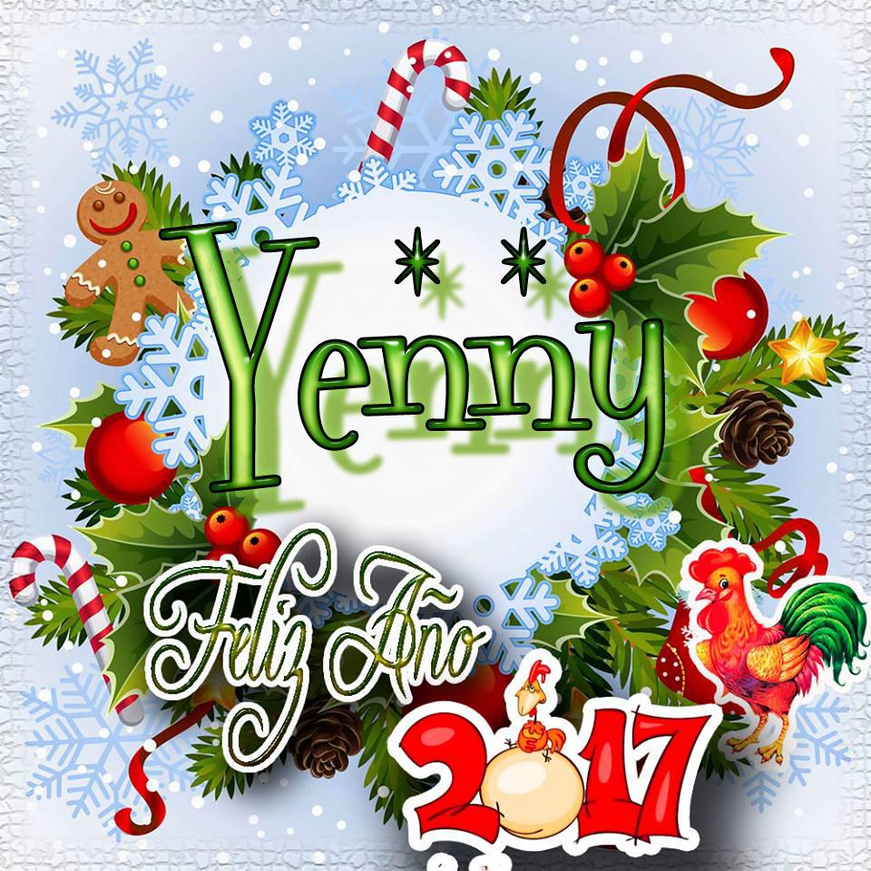 Lindas tarjetas para perfil con tu nombre 2017!!! Yenny