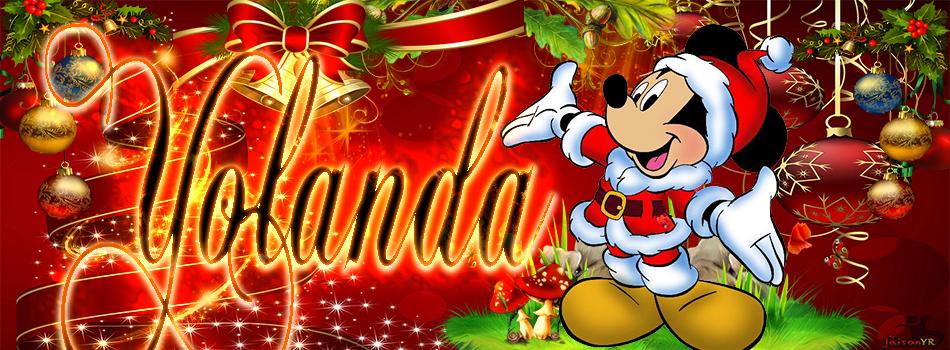 Portadas de Navidad con tu Nombre, de MICKEY,Yolanda!!!