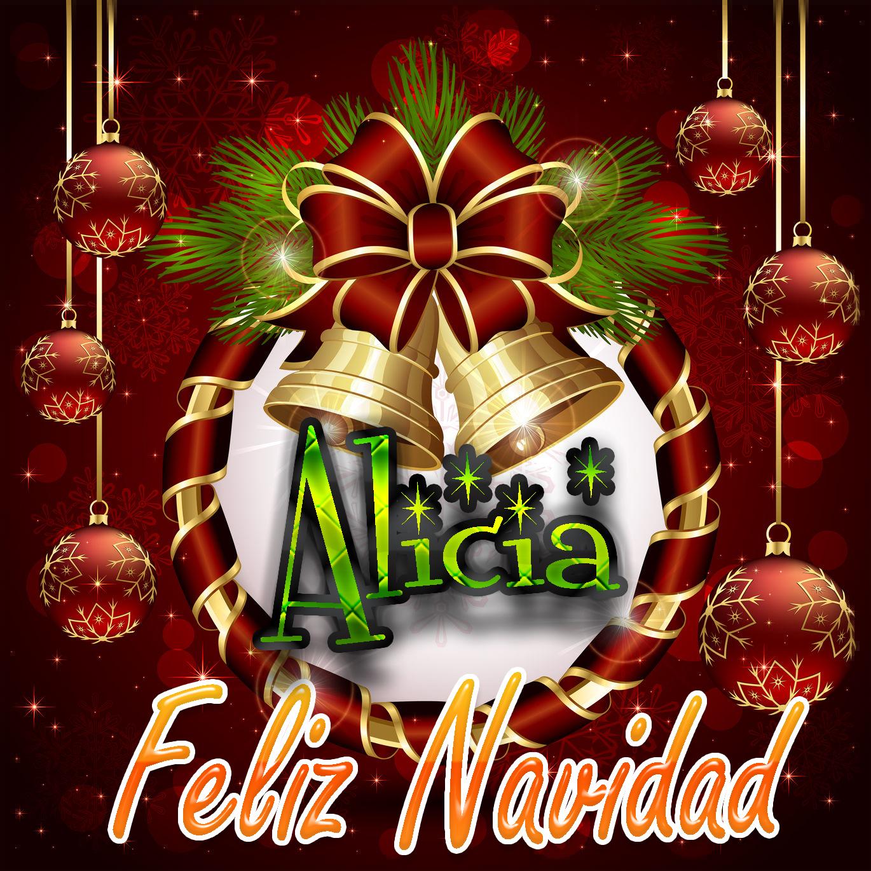 Feliz Navidad !!! Alicia