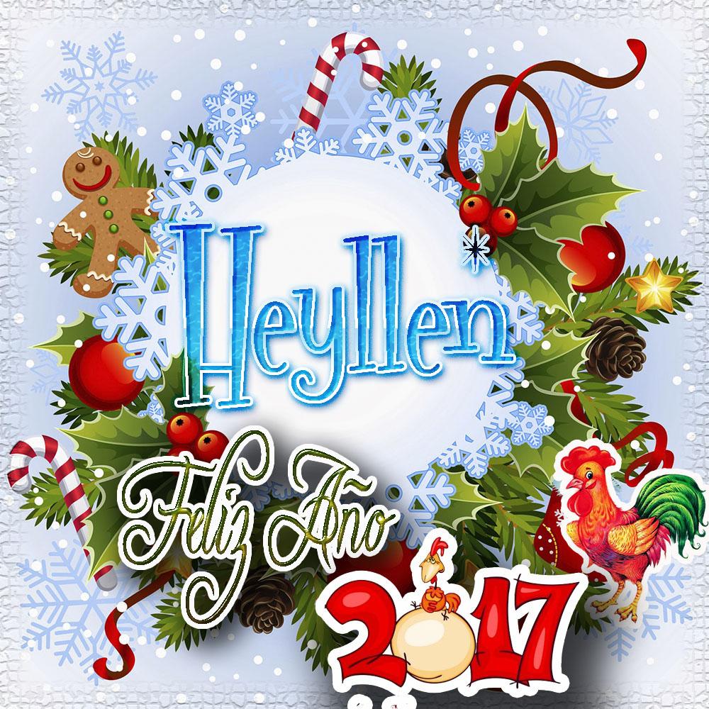 Lindas tarjetas para perfil con tu nombre 2017!!! Heyllen