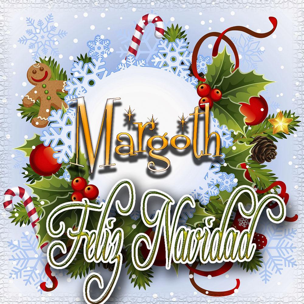 Feliz Navidad, Tarjetas con tu Nombre!!! Margoth