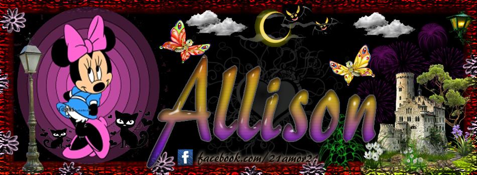 Portadas para tu Facebook con tu nombre, Allison