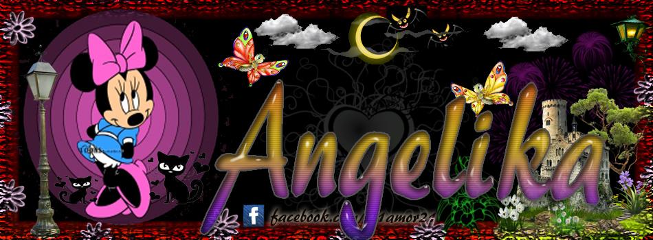 Portadas para tu Facebook con tu nombre, Angelika