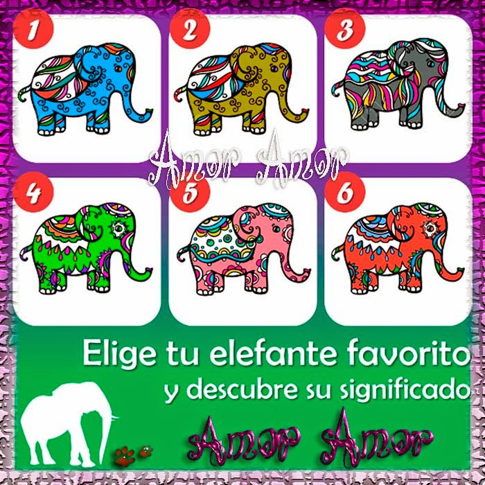El test de los elefantes