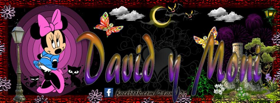 Portadas para tu Facebook con tu nombre, David y Moni