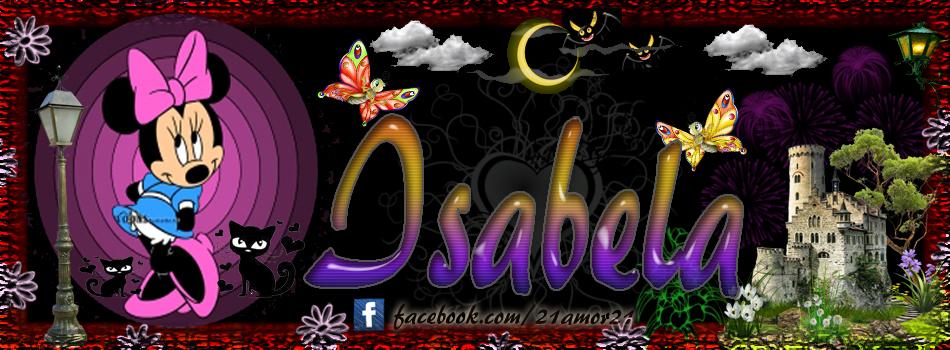 Portadas para tu Facebook con tu nombre, Isabela