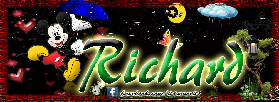 Portadas para tu Facebook con tu nombre, Richard