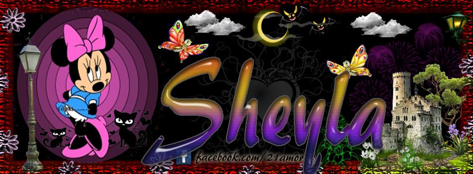 Portadas para tu Facebook con tu nombre, Sheyla