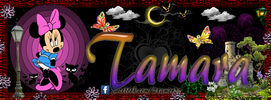 Portadas para tu Facebook con tu nombre, Tamara
