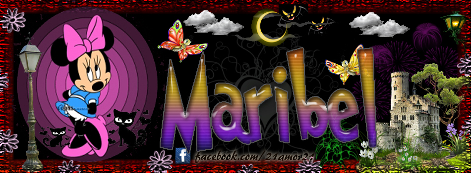 Portadas para tu Facebook con tu nombre,Maribel