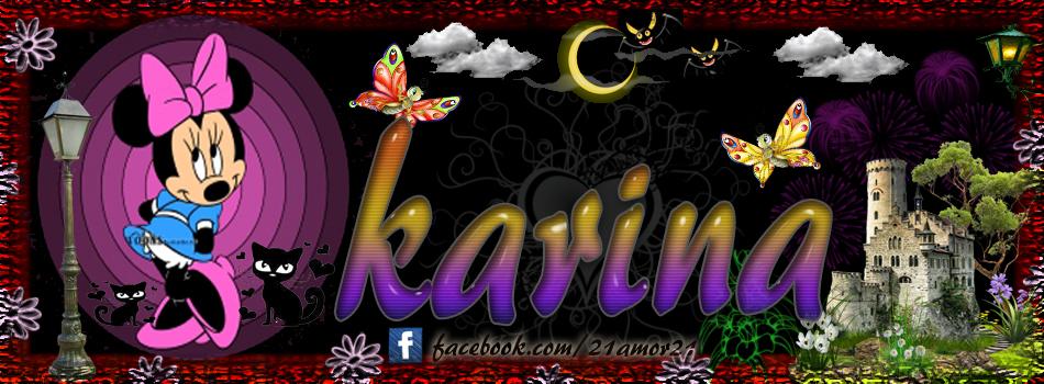 Portadas para tu Facebook con tu nombre,Karina