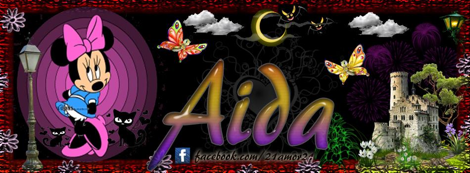 Portadas para tu Facebook con tu nombre, Aida
