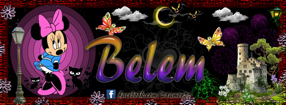 Portadas para tu Facebook con tu nombre, Belem