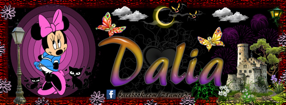 Portadas para tu Facebook con tu nombre, Dalia