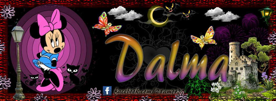 Portadas para tu Facebook con tu nombre, Dalma