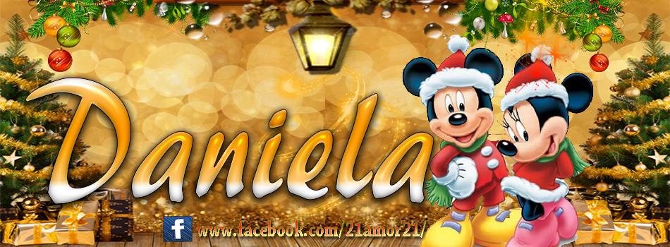 Portadas de Navidad con tu Nombre, de MICKEY, Daniela!!!