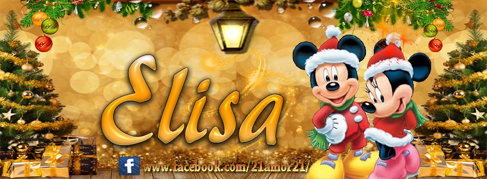 Portadas de Navidad con tu Nombre, de MICKEY, Elisa!!!