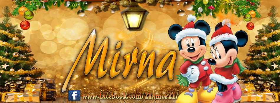 Portadas de Navidad con tu Nombre, de MICKEY, Mirna!!!