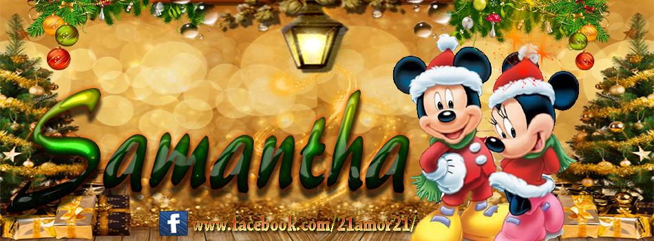 Portadas de Navidad con tu Nombre, de MICKEY, Samantha!!!