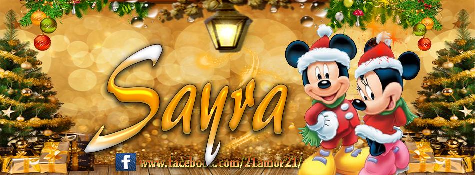 Portadas de Navidad con tu Nombre, de MICKEY, Sayra!!!