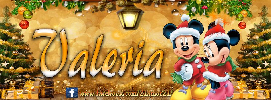 Portadas de Navidad con tu Nombre, de MICKEY, Valeria !!!