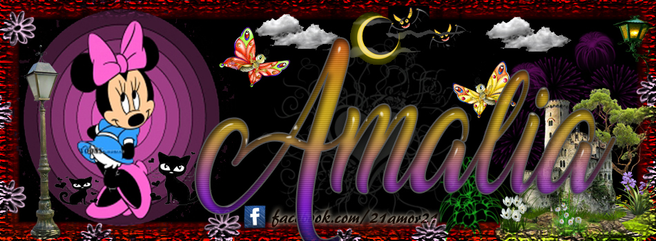 Portadas para tu Facebook con tu nombre, Amalia