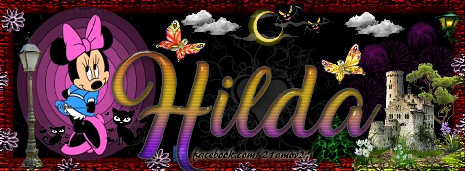 Portadas para tu Facebook con tu nombre, Hilda