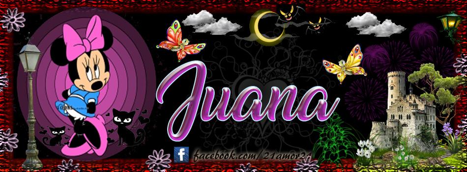 Portadas para tu Facebook con tu nombre, Juana