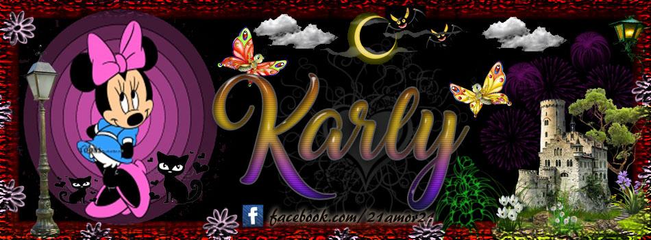 Portadas para tu Facebook con tu nombre, Karly