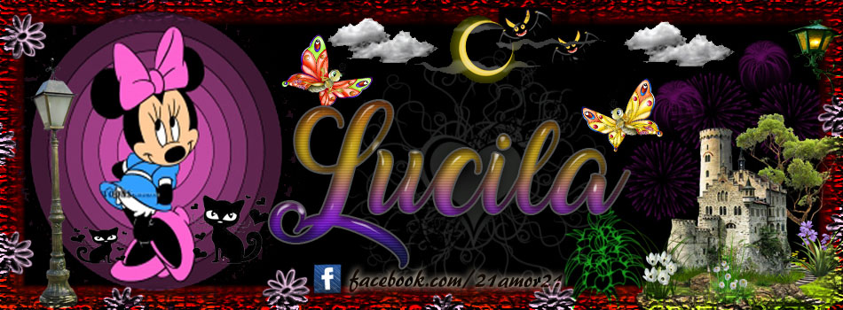 Portadas para tu Facebook con tu nombre, Lucila