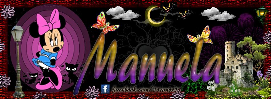 Portadas para tu Facebook con tu nombre, Manuela