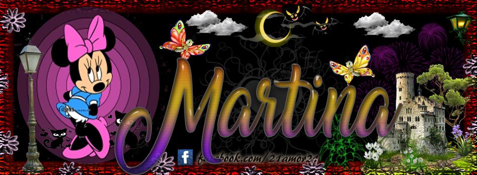 Portadas para tu Facebook con tu nombre, Martina