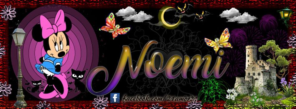 Portadas para tu Facebook con tu nombre, Noemi