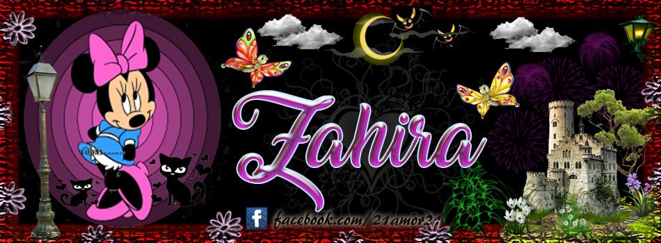 Portadas para tu Facebook con tu nombre, Zahira
