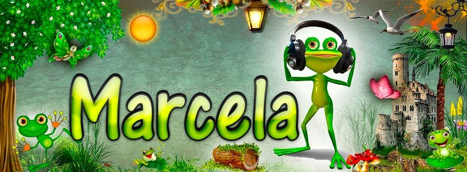 Portadas para tu Facebook de la Rana con tu nombre,Marcela