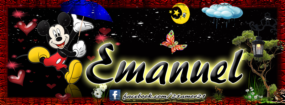 Portadas para tu Facebook con tu nombre,Emanuel