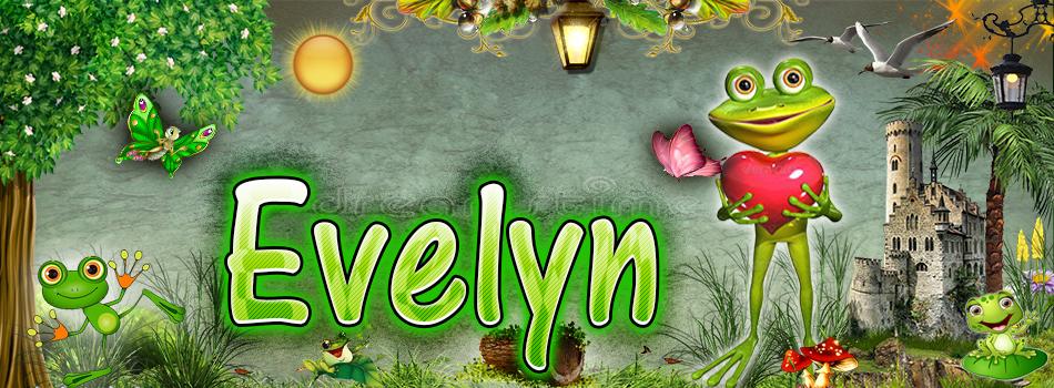 Portadas para tu Facebook de la Rana con tu nombre,Evelyn