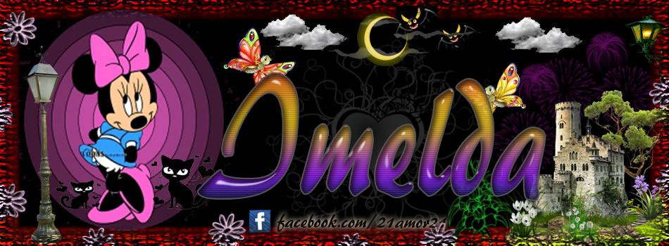 Portadas para tu Facebook con tu nombre, Imelda