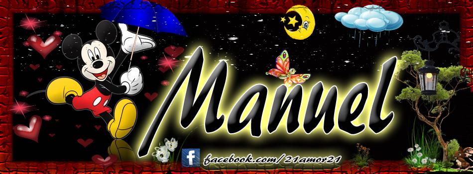 Portadas para tu Facebook con tu nombre,Manuel