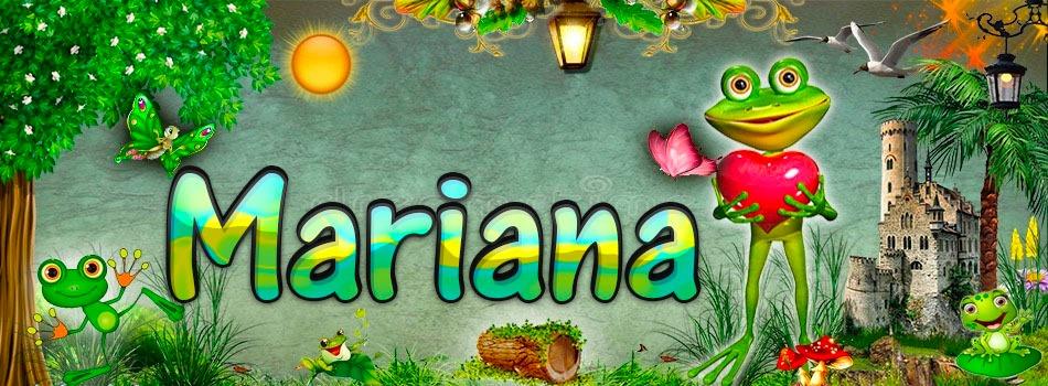 Portadas para tu Facebook de la Rana con tu nombre,Mariana
