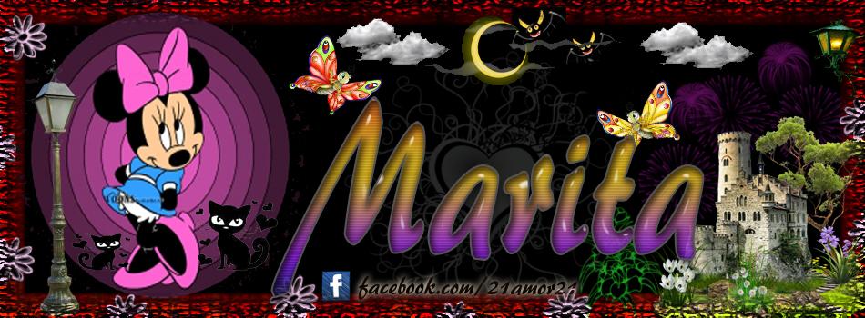 Portadas para tu Facebook con tu nombre,Marita