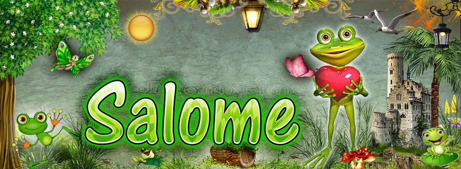 Portadas para tu Facebook de la Rana con tu nombre,Salome