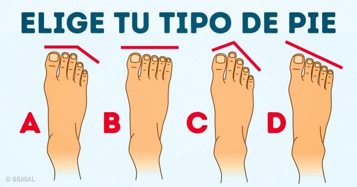 Qué dice de ti la forma de tus pies