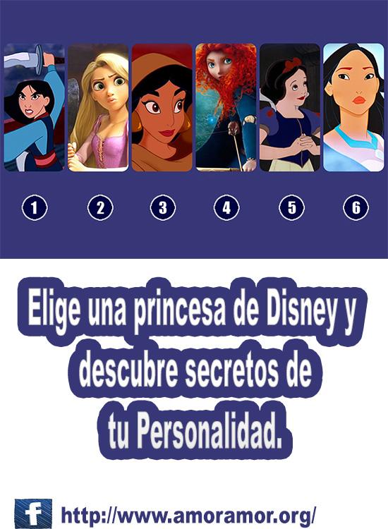 Elige una princesa de Disney y descubre quién eres.