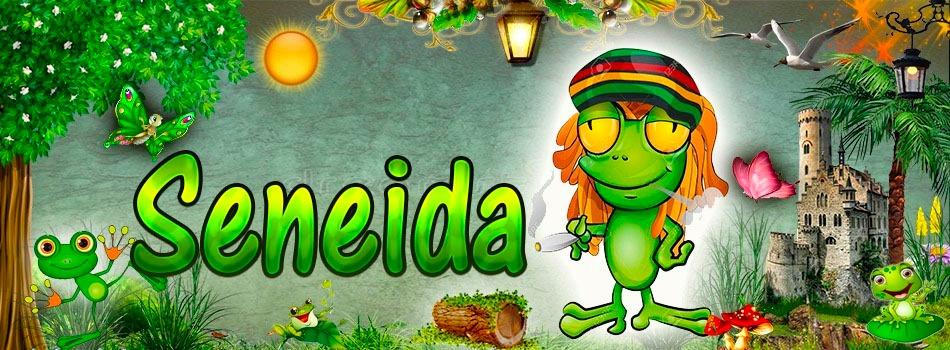 Portadas para tu Facebook de la Rana con tu nombre,Seneida