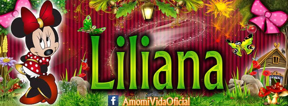 Nuevas Portadas para tu Facebook con tu nombre de Minnie y Mickey,Liliana